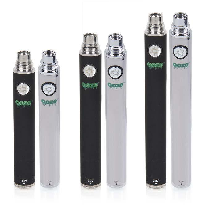 ooze variable voltage twist batteries