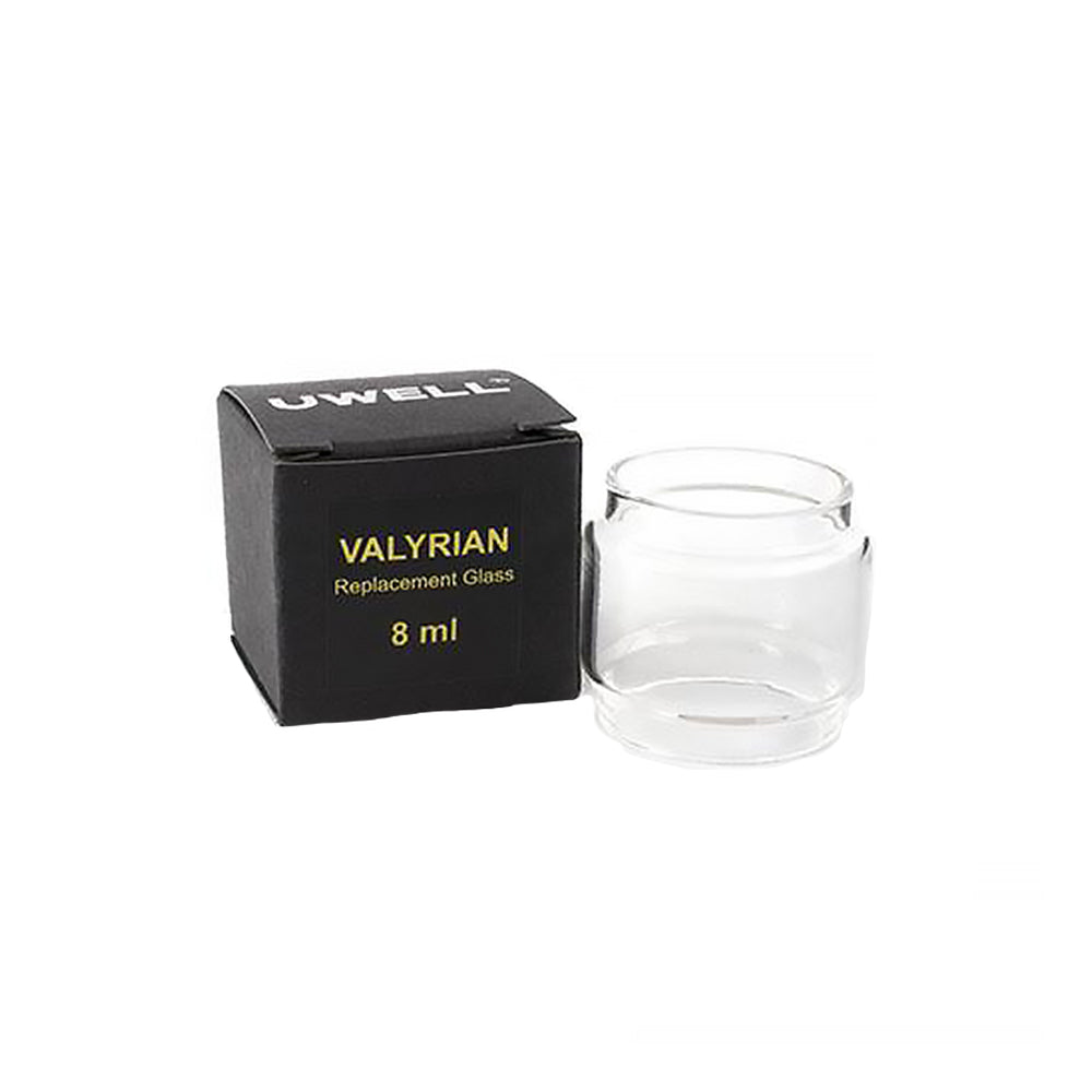 Uwell valyrian 8ml bubble glass.