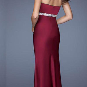 Women Sexy Wrapped Chest Split Party Dress Evening Dress