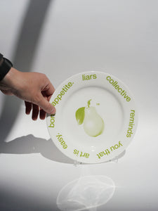 Plate 'Art is easy'
