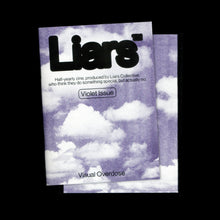 "Load image into Gallery viewer, ""LIARS"" Zine. Viotel issue"