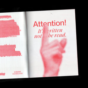 Zine. Red Issue
