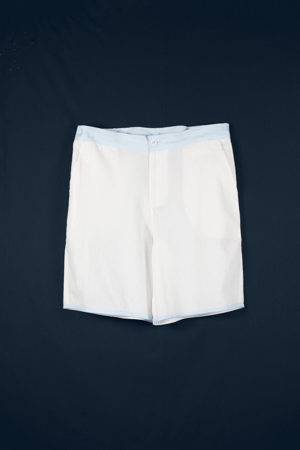 SHORTS Plain & Tape       100%ᴾᵁᴿᴱ COTTON herringbone-light       OFFWHITE-Ice       Paris 1924 Olympics