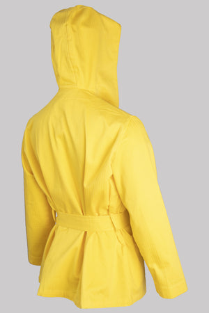 8716 HOODY-JACKET Cotton YELLOW