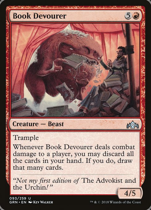 Book Devourer [Guilds of Ravnica] | Emerald Dragon Games