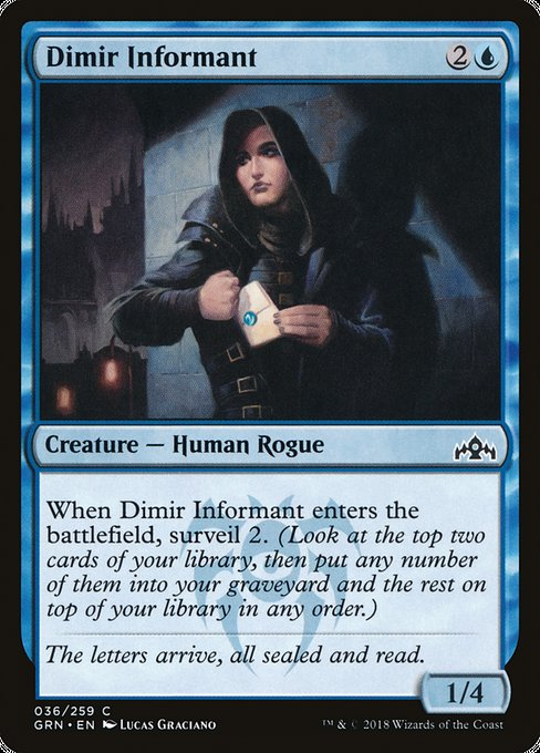 Dimir Informant [Guilds of Ravnica] | Emerald Dragon Games