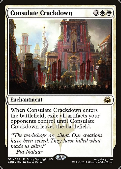 Consulate Crackdown [Aether Revolt] | Emerald Dragon Games