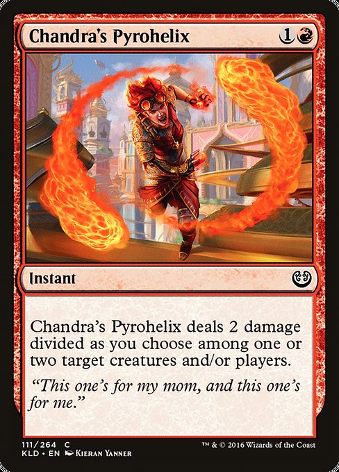 Chandra's Pyrohelix [Kaladesh] | Emerald Dragon Games