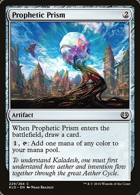 Prophetic Prism [Kaladesh] | Emerald Dragon Games