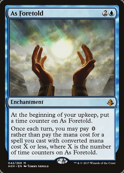 As Foretold [Amonkhet]