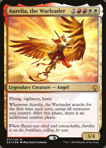 Aurelia, the Warleader [GRN Guild Kit]