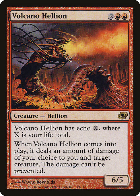Volcano Hellion [Planar Chaos] | Emerald Dragon Games