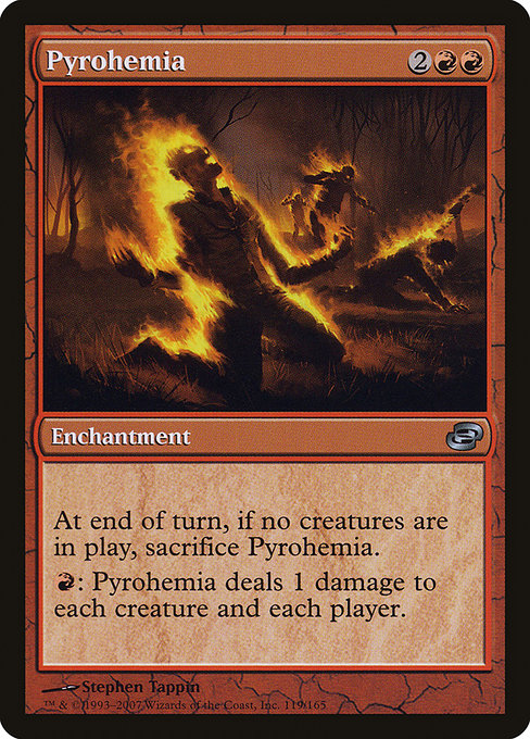 Pyrohemia [Planar Chaos] | Emerald Dragon Games