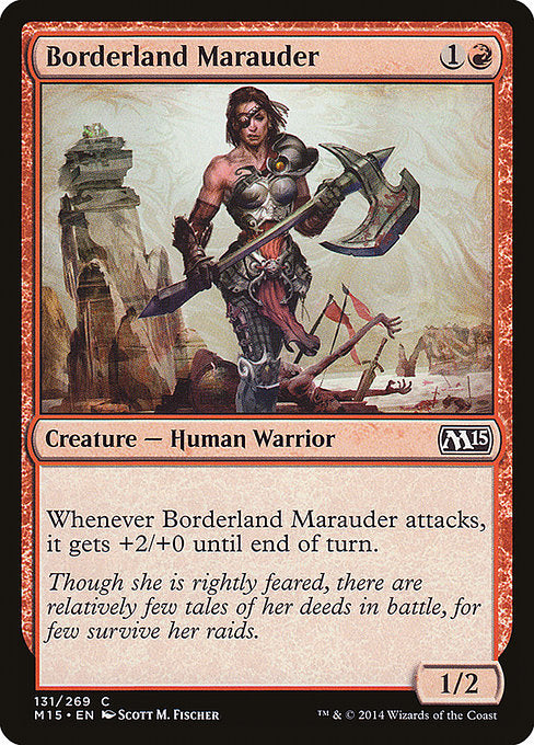 Borderland Marauder [Magic 2015]