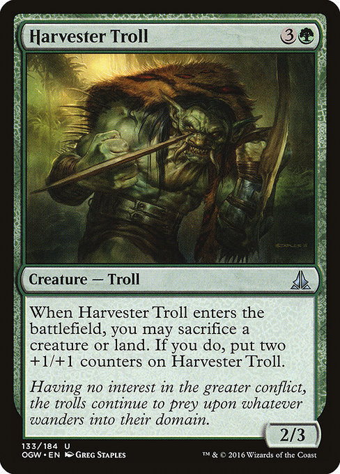 Harvester Troll [Oath of the Gatewatch] | Emerald Dragon Games