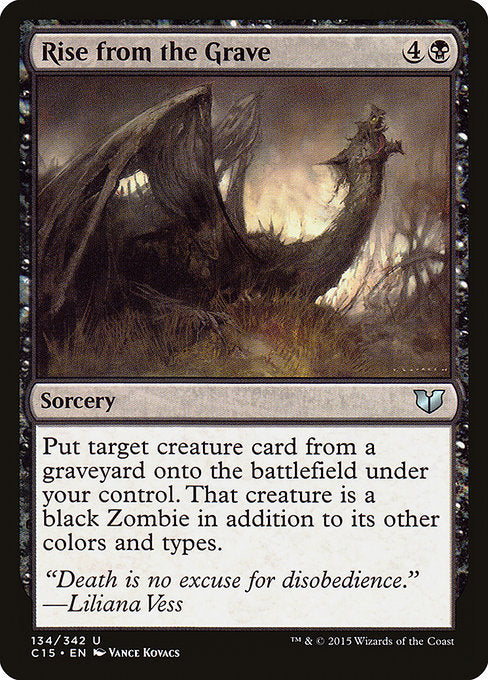Rise from the Grave [Commander 2015] | Emerald Dragon Games