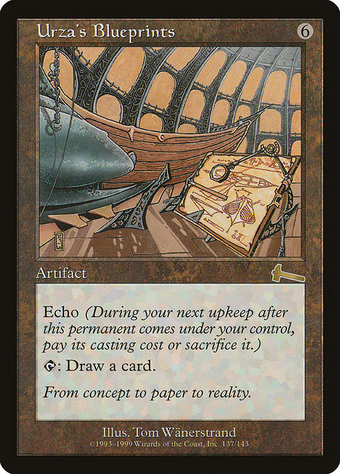 Urza's Blueprints [Urza's Legacy] | Emerald Dragon Games
