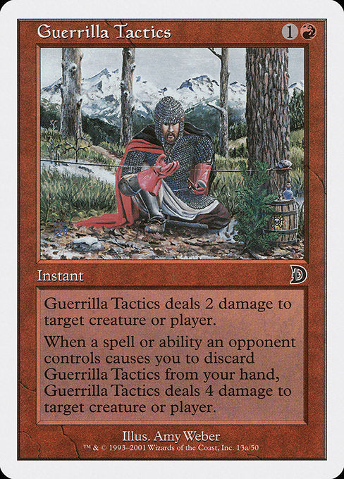 Guerrilla Tactics [Deckmasters] | Emerald Dragon Games