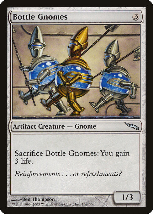 Bottle Gnomes [Mirrodin] | Emerald Dragon Games