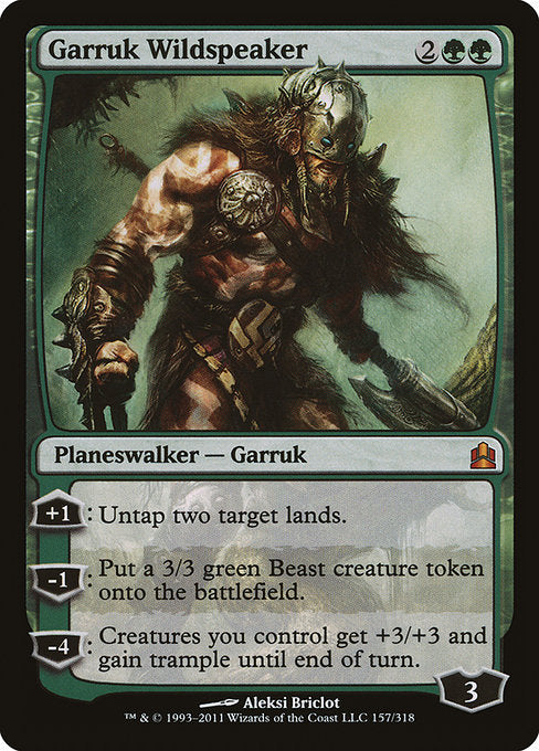 Garruk Wildspeaker [Commander 2011] | Emerald Dragon Games
