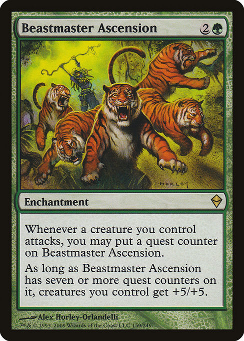 Beastmaster Ascension [Zendikar]