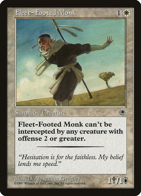Fleet-Footed Monk [Portal] | Emerald Dragon Games