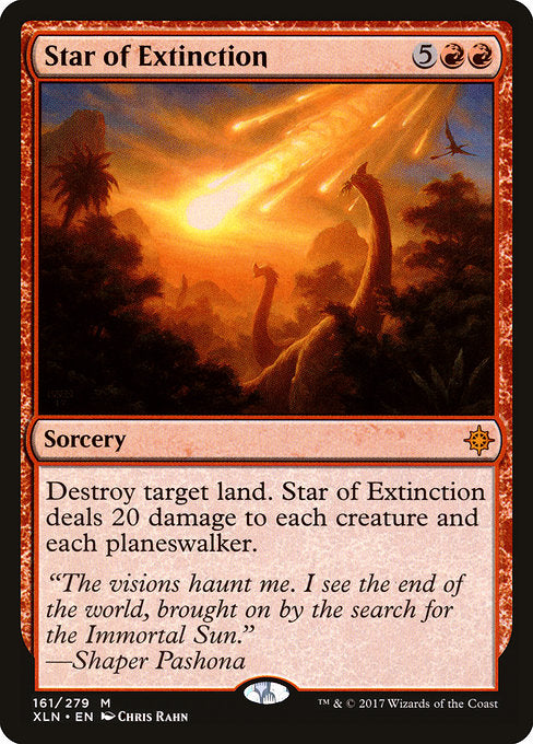 Star of Extinction [Ixalan] | Emerald Dragon Games