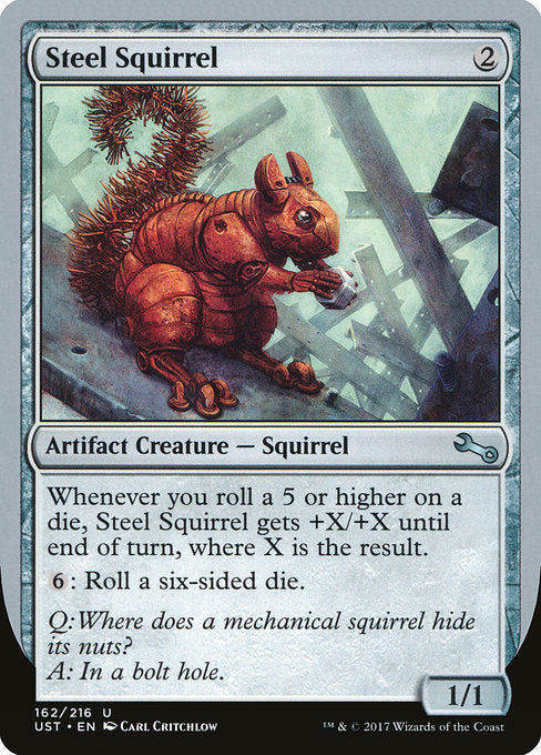 Steel Squirrel [Unstable] | Emerald Dragon Games