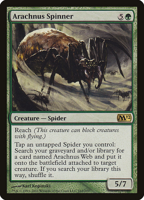 Arachnus Spinner [Magic 2012] | Emerald Dragon Games