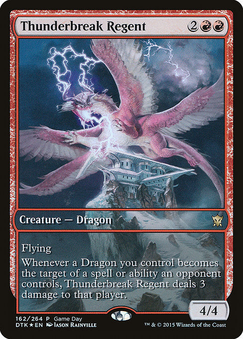 Thunderbreak Regent [Dragons of Tarkir Promos] | Emerald Dragon Games