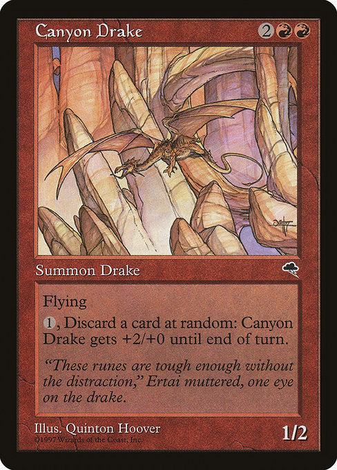 Canyon Drake [Tempest] | Emerald Dragon Games