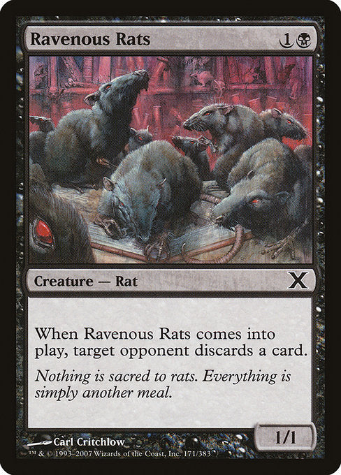 Ravenous Rats [Tenth Edition] | Emerald Dragon Games