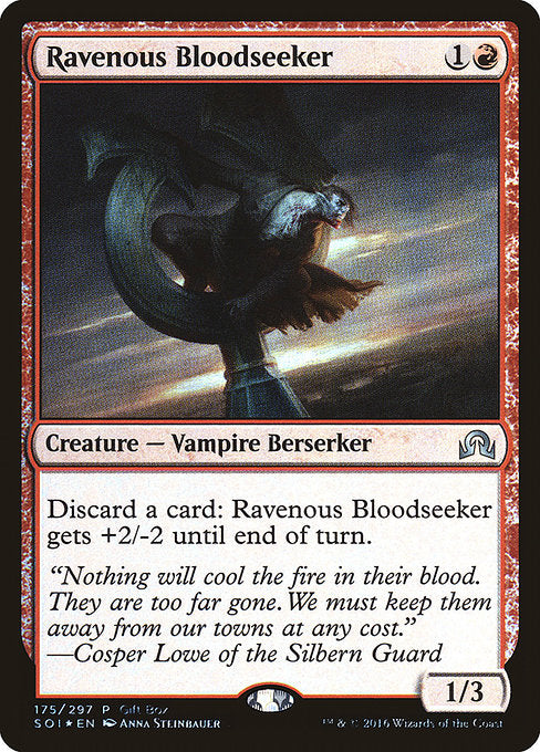 Ravenous Bloodseeker [Shadows over Innistrad Promos] | Emerald Dragon Games