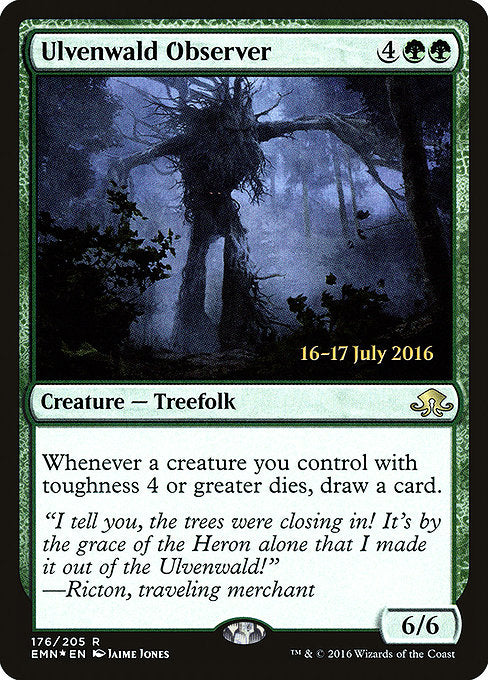 Ulvenwald Observer [Eldritch Moon Promos] | Emerald Dragon Games