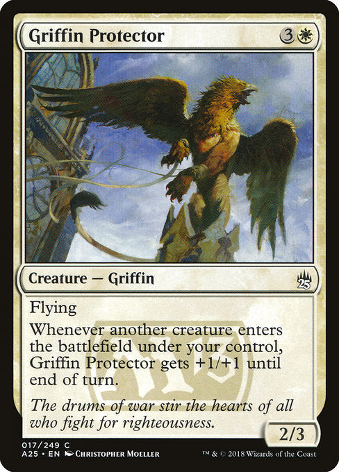 Griffin Protector [Masters 25] | Emerald Dragon Games