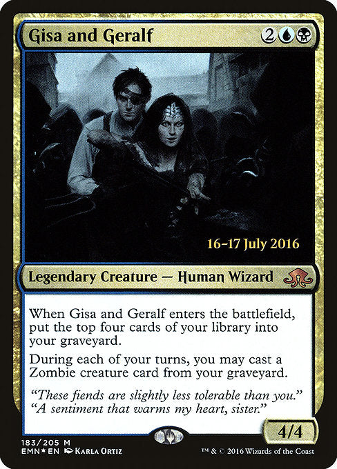 Gisa and Geralf [Eldritch Moon Promos] | Emerald Dragon Games