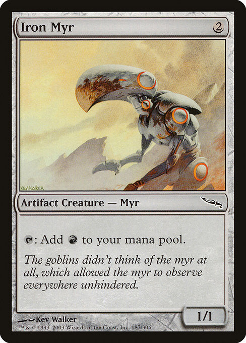 Iron Myr [Mirrodin] | Emerald Dragon Games