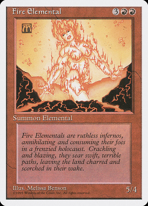 Fire Elemental [Fourth Edition]