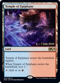 Temple of Epiphany [Prerelease Cards]