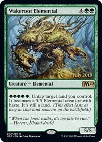 Wakeroot Elemental [Prerelease Cards]