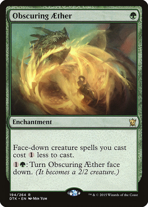 Obscuring Aether [Dragons of Tarkir] | Emerald Dragon Games