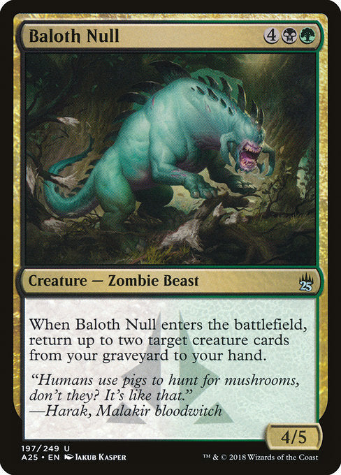 Baloth Null [Masters 25] | Emerald Dragon Games