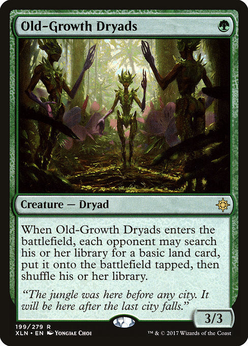 Old-Growth Dryads [Ixalan] | Emerald Dragon Games