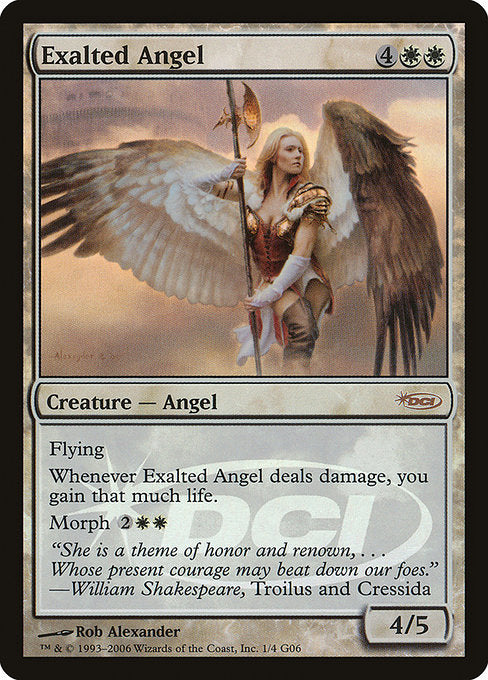 Exalted Angel [Judge Gift Cards 2006] | Emerald Dragon Games