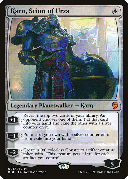 Karn, Scion of Urza [Dominaria] | Emerald Dragon Games