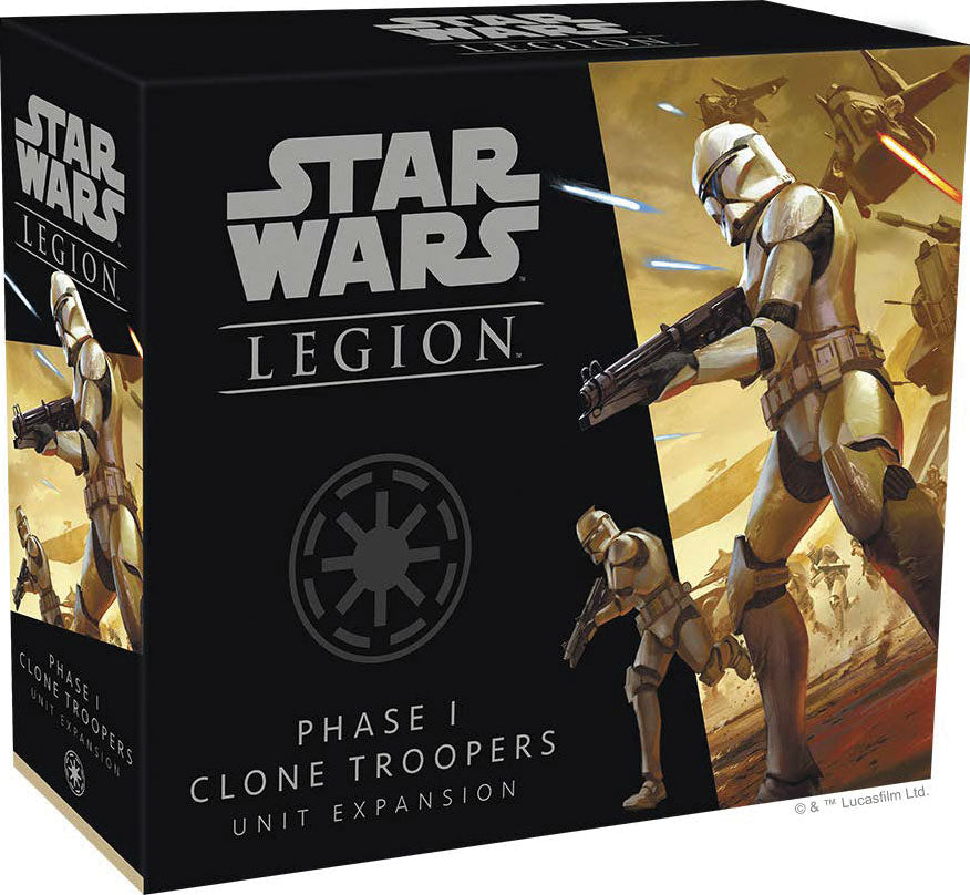 Star Wars: Legion - Phase I Clone Troopers Unit Expansion | Emerald Dragon Games