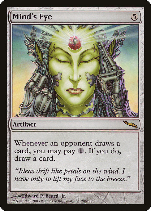 Mind's Eye [Mirrodin] | Emerald Dragon Games