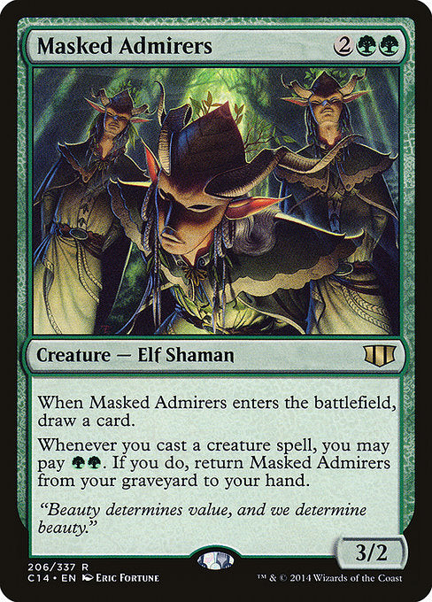 Masked Admirers [Commander 2014] | Emerald Dragon Games