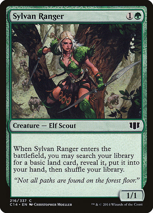 Sylvan Ranger [Commander 2014] | Emerald Dragon Games