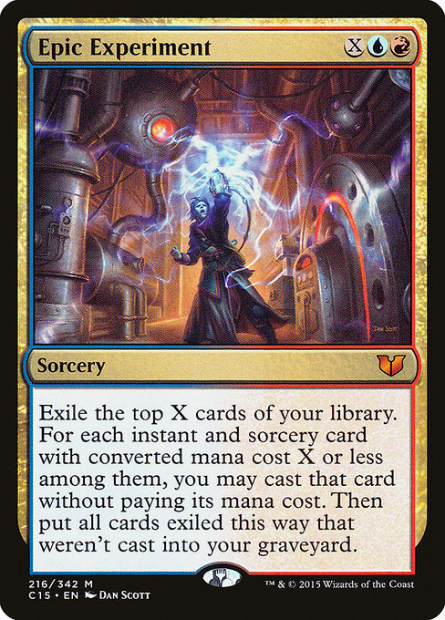 Epic Experiment [Commander 2015]
